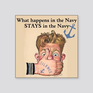 In the Navy Sticker